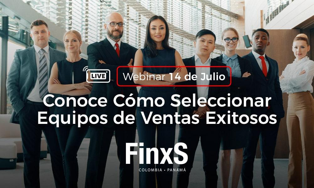 Banner webinar como seleccionar equipos de ventas exitosos móviles